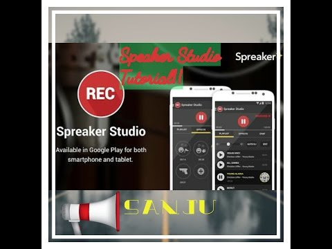How to use Spreaker Studio Android application 2017 - basic tutorial