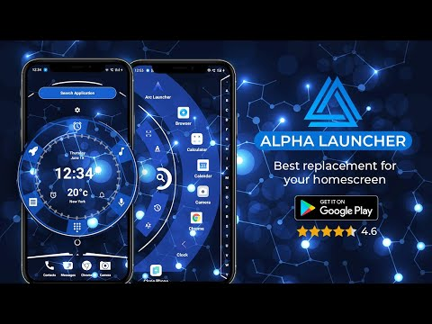 video review of Alpha Hybrid Launcher 2021 Free - No ads