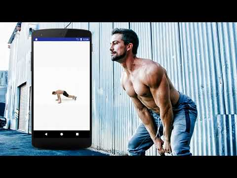 Stomach Fat Burning Workout For Men App Promo