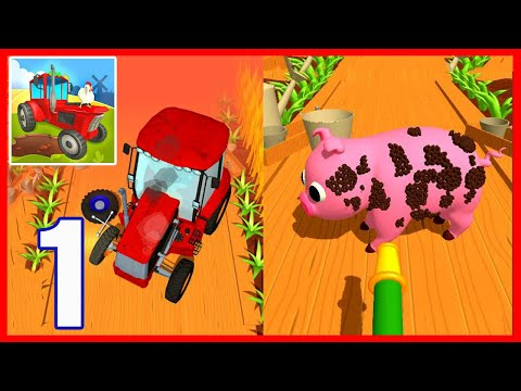 Perfect Farm - Gameplay Walkthrough Part 1 - All Levels 1-30 (Android,iOS)
