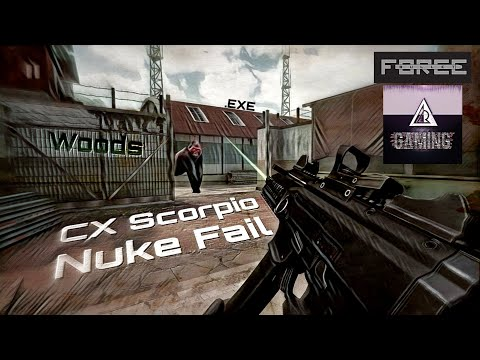 ARking118 Gaming   Bullet Force gameplay android   CX Scorpio Nuke fail in Woods .exe!!!