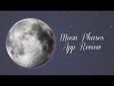 My Moon Phase New App Review