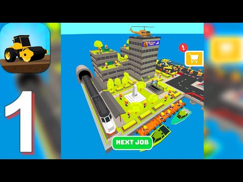 Build Roads - Gameplay Walkthrough Part 1 (Android,iOS)