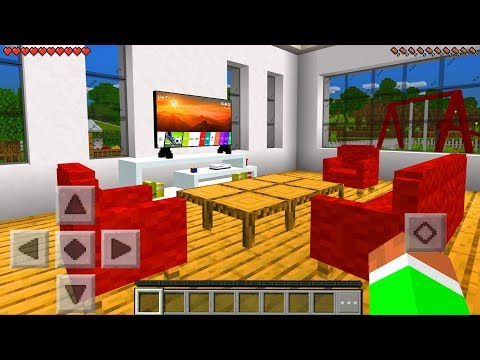Minecraft PE : REAL LIFE FURNITURE MOD in Minecraft Pocket Edition