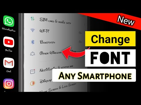 How to Change Font Style in Any Android Device | Front Style | Font | new front style kaise lagaye