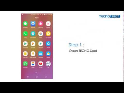 5 easy steps to sign up into TECNO SPOT