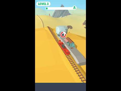 Off the Rails 3D Gameplay || ios,android