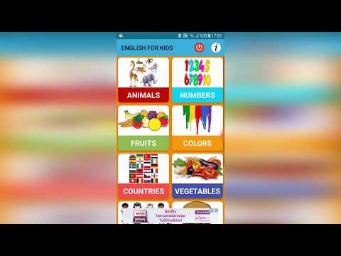 English For Kids Android App