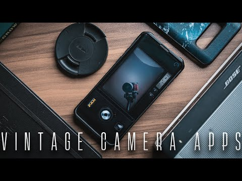 Retro FILM CAMERA APPS YOU SHOULD TRY!- AR Quickies Ep - 1!