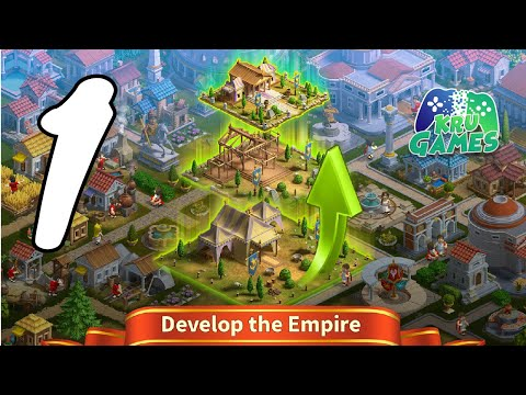 Rise of the Roman Empire: City Builder & Strategy Gameplay Walkthrough #1 (Android, IOS)