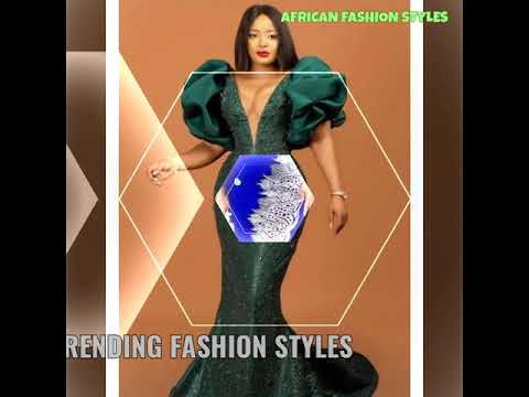 video review of African Women Fashion Dress 2020
