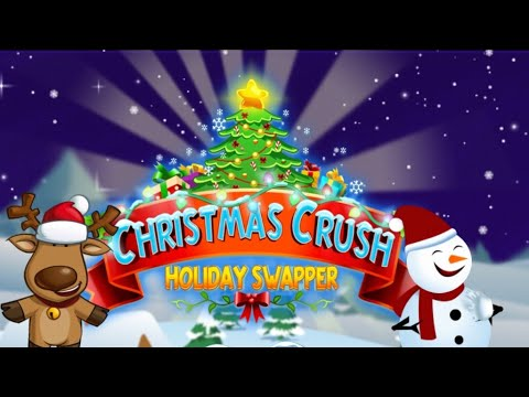 Christmas Crush Holiday Swapper Candy Match 3 Game