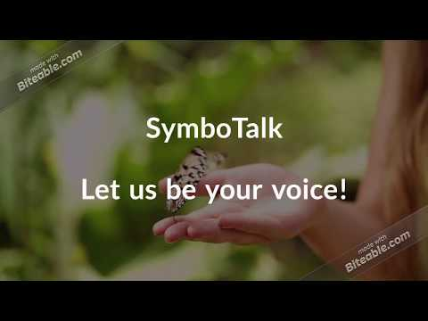 video review of SymboTalk - AAC Talker