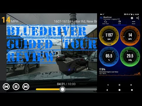 BlueDriver Professional Bluetooth OBDII Scanner Installation, Guided Tour, and Review