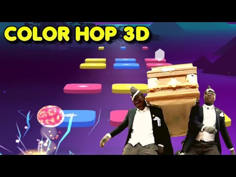 Coffin Dance Song *Astronomia* played on Color Hop 3D | Gameplay #2 (Android & iOS Game)