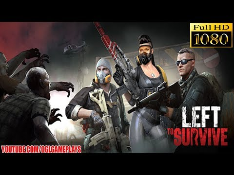 Left to Survive Walkthrough Gameplay #1 (Android iOS)