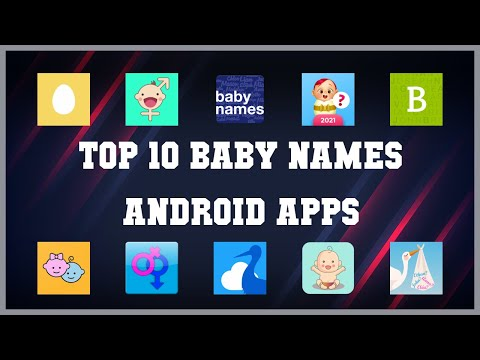 Top 10 Baby Names Android App   Review
