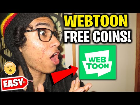 WEBTOON HOW TO GET COINS - Webtoon How to Get More Coins & Fast pass for Free (iOS/Android)