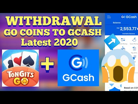 HOW TO WITHDRAW GO COINS TO GCASH ON TONGITS GO | LATEST 2020 | EASIEST WAY
