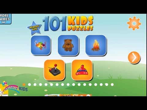 101 KIDS PUZZLE GAME PLAY FUNNNY VIDEO FOR TODLERS