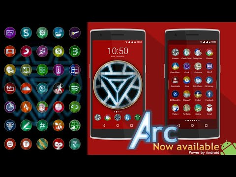 video review of Arc - Icon Pack