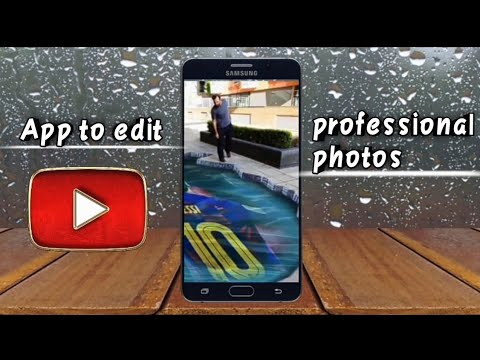 App to edit professional photos for Android 2020