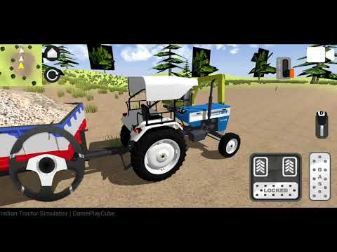 Indian Tractor Simulator Android Gameplay
