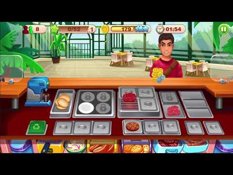 Cooking Talent Restaurant Manager Chef Game Level 1 2 3 4 Gameplay - Android GamePlay FHD