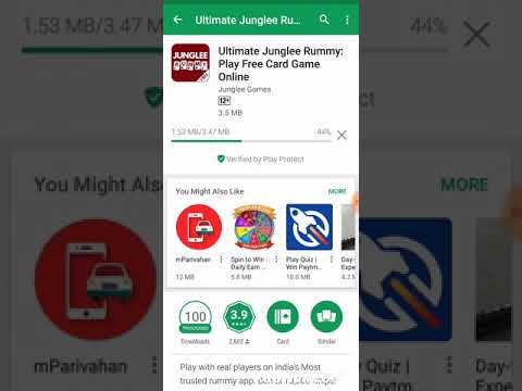How to download JUNGLEE RUMMY Android App