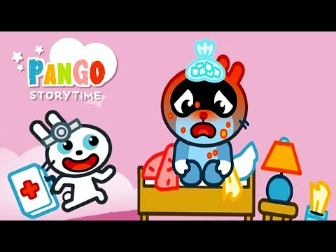 Pango Storytime: intuitive story app for kids - New Story - Piggy the Baker 🥐🥖🍞 & Pango Is Sick