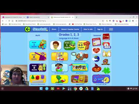 How to access Starfall App