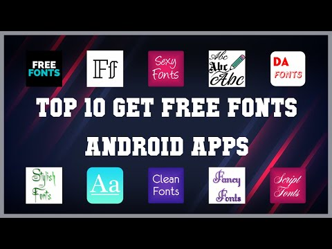 Top 10 Get Free Fonts Android App | Review