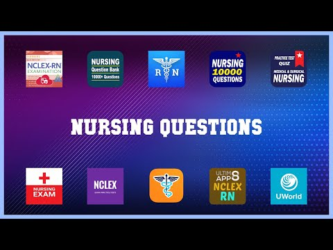 Super 10 Nursing Questions Android Apps