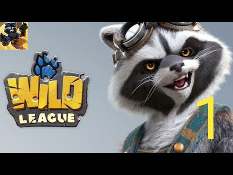 Wild League: Top-Down SHOOTER, Gameplay Part 1 Tutorial (Android)
