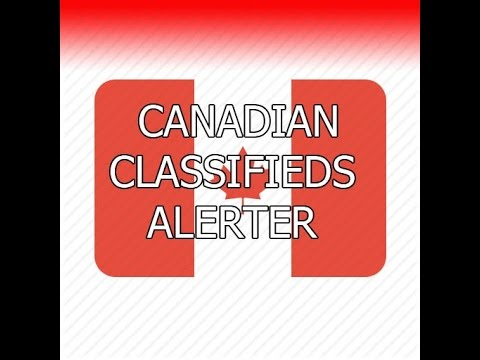 Get Instant Kijiji Alerts straight to your phone! - Canadian Classifieds Alerter - Android app