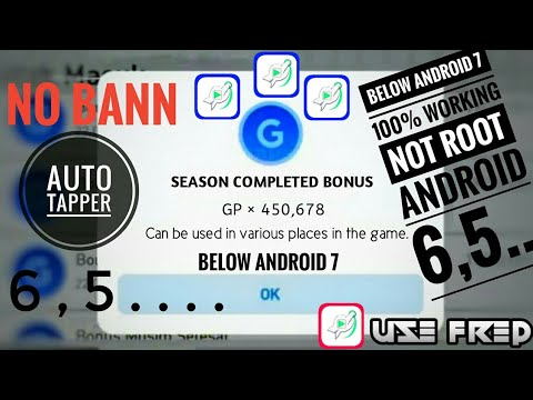 How To Get Automatic Tapping Clicker On Android 6 Or Below In Any Device For  Pes 2020 Mobile 100%