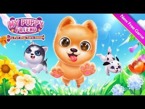 video review of My Puppy Friend - Cute Pet Dog Care Games