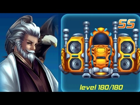 Sky Raptor: Space Invaders Level 31-40 Boss fight GAMEPLAY
