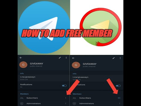 HOW TO ADD UNLIMITED MEMBER'S IN TELIGRAM CHANNEL 100% FREE TRICK    Teligram Free Subscriber   