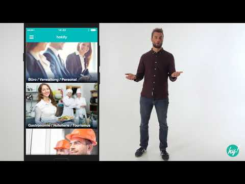 video review of hokify Job App - Easy Job Search & Application