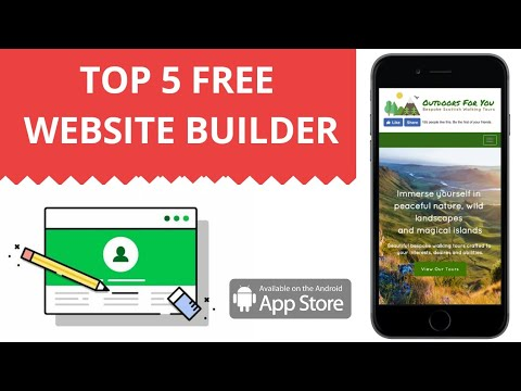 Top 5 Website Builder for Android || Review