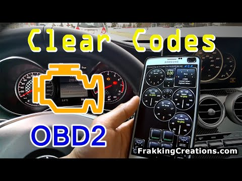 How-to reset Check engine light - Clear codes with Smartphone & OBD2 reader / Bluetooth OBD adapter