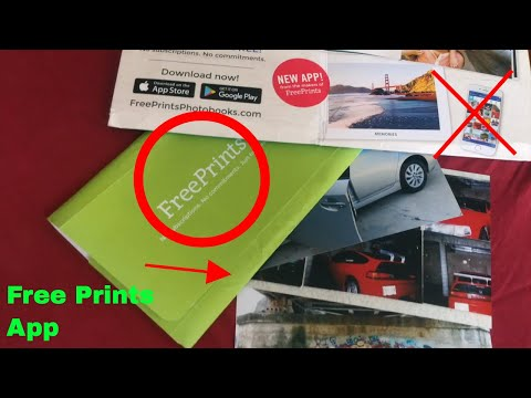 ✅  How To Use Free Prints Photo App Review
