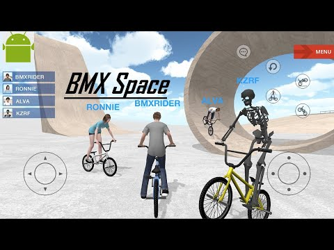 BMX Space (Enjoy battles and chats in multiplayer mode) - New Game for Android