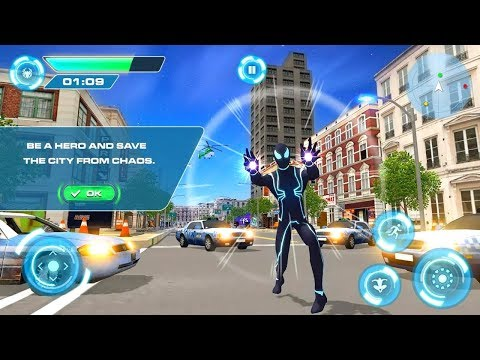 Super Hero Fighting Incredible Crime Battle - Gameplay Trailer (Android Gameplay)