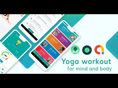 Yoga workout android app ready to publish in playstore