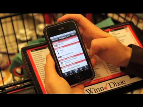 Winn-Dixie Introduces Smartphone 'App' Saving Customers Time and Money with Their Grocery Shopping