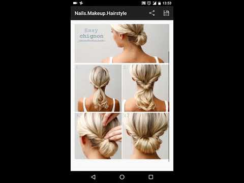 video review of Nails.Makeup.Hairstyle