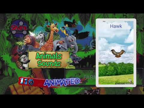 video review of Animals Sounds For Kids (Animated)