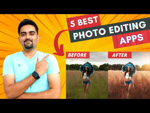 5 Best Photo Editing Apps For Android ⚡⚡⚡ In 2021